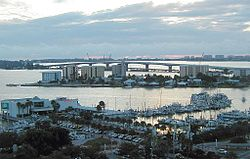 File source: http://commons.wikimedia.org/wiki/File:Sarasota_Bay_and_waterfront,_Sarasota,_Florida_(2003).jpg